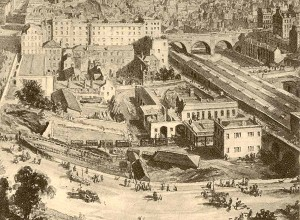 Canal Street Station, 1846